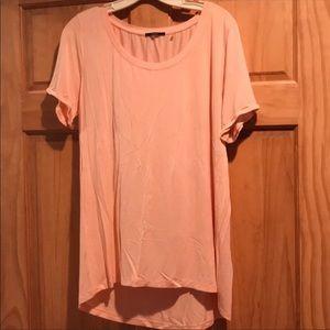 Peach tunic top. XL
